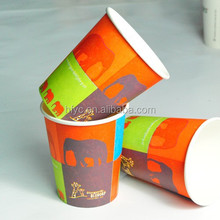 Christmas using disposable paper drinking cup