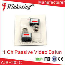 Mini Shape 400Meters Long Distance Passive Video Balun