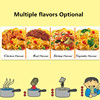 Very delicous healthy Chicken/Beef/vegetable/ shrimp Flavors hokkien instant Noodle ready cook