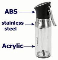 Vinegar top used airless cosmetic cream dispensers pump