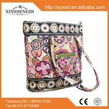 IR013 2015 Hot Sale wholesale cotton floral handbags