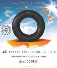 Butyl Inner Tube 12.00R20 truck tire inner tubes for whole sale