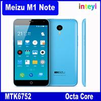 """Original 5.5"""" Meizu M1 Note 4G LTE Cell Phones MTK6752 Octa Core 1.7GHz 1920x1080 Screen 13.0MP 2GB ROM 16GB 32GB FDD"""