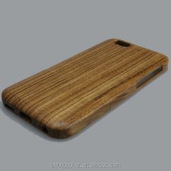Retro Wood Stylish Colorful Bamboo/Wood Case for iPhone 6 , For iPhone 6s Wood Case With Multi-Color Phone Back Cover