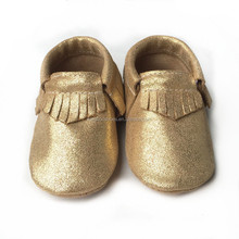glitter blue suede moccasins,new design kinghoo baby moccasin shoes