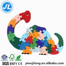 Children intellectual joyful puzzle jigsaw