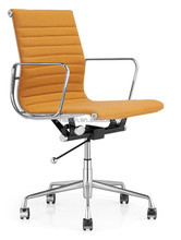 middle back eames chair simple design swivel chair modern office chair