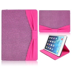 Kajsa Bowknot Pattern Stand Flip Leather Case for iPad Mini 2 Retina