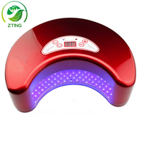 12w moon shape led only nail lamp best led nail lamp lamp uv for nail