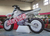 Factory direct good quality inflatable motorcycle