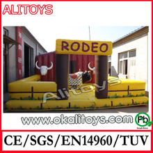 inflable mechanical bull deporte juegos inflables rodeo toro inflable