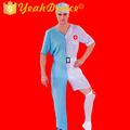 o projeto original dos homens fantasia enfermeira halloween traje cosplay