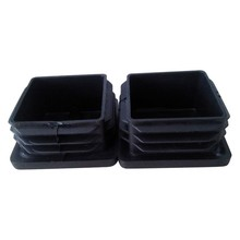 2015 hot sale high quality square pipe rubber end caps made in China