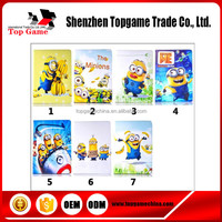 2015 New style for ipad mini 2 despicable me minion leather flip case