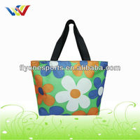 High quality canvas beach handbag(FL-HB072)