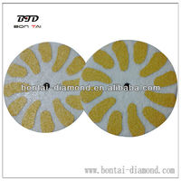 New diamond sponge polishing pad dry use for concrete, granite, marble