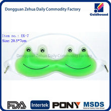 cold eye mask ice pack eye mask for kids using PVC and Gel Material