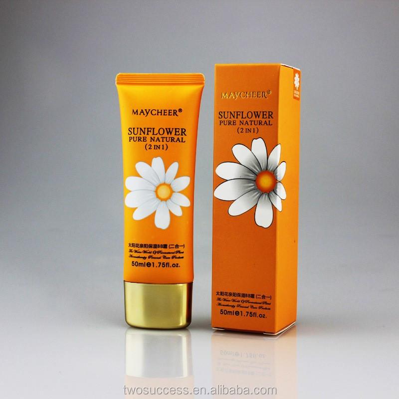 Sunflower concealing fading skin whitening brightening BB cream .jpg