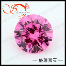 manufacturer synthetic colorful cubic zircon gems