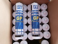 300ml natural silicone sealant for glass and doors