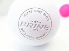 rubber ball /balls hockey balls engraved with high quality