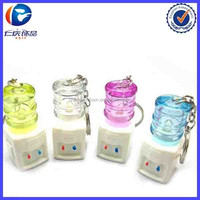 Water Dispenser Flashlight Torches Keychain