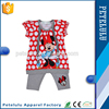 New Fashion Summer Kids Garment Brand Apparel Sets Kids Dresses Girl Legging Set