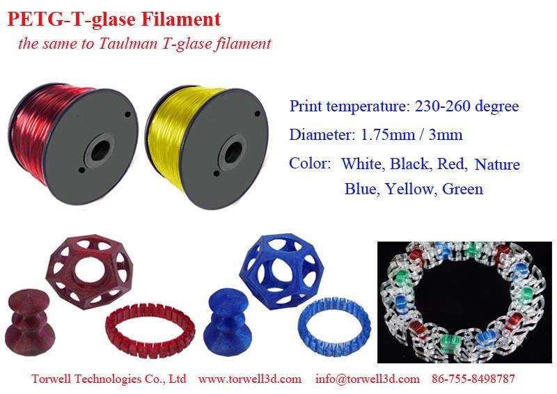T-glase filament