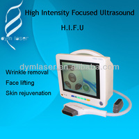 Promotion!!! High Intensity Focused Ultrasound SMAS lifting hifu machine