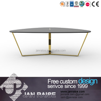 Hot selling high gloss modern luxury living room furniture/coffee table