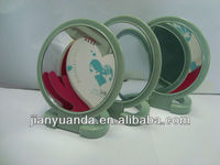Double sides table mirror/2X 3X5X magnifying table mirror/dressing table mirror price