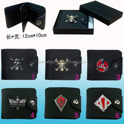 6 Styles Anime Wallet