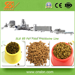Stainless Steel Low Electric Cost Pet Food Processing Line /Fish feed production line