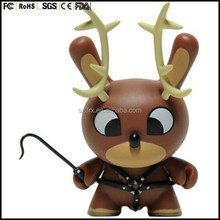 KIDROBOT DUNNY CHRISTMAS XMAS HOLIDAYS deer SPECIAL LIMITED EDITION with horn kids toys vinyl figure