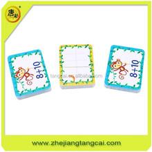 custom memory game / children game memory/alphabet learning card