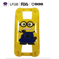 Cartoon character high quality custom phone case protective silicone case