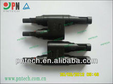 MC4 branch solar PV T connectors with TUV certification