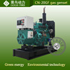 Green power low consumption 4105D 30kw natural gas generator set