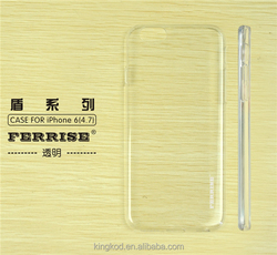 Ultra thin transparent phone accessories cheap silicon case for iphone 6