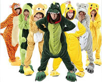 hot sale animal onesie costume plush soft adult pajamas