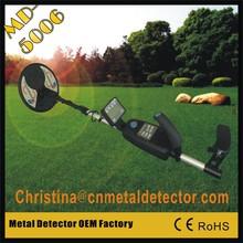 Professionellen High Tiefe Boden beste gold metalldetektor maschine md-5006dts