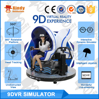New Business Plan Electric 3 Seats 9D VR Egg Cinema VR Amusement Game Machine 9D Mobile Cinema