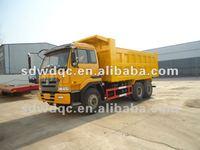rear dump truck semi trailer 2 axle
