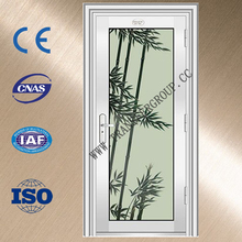 Traditional ss stainless steel interior door with unique design