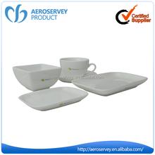 Best quality OEM top class custom logo thai ceramic tableware