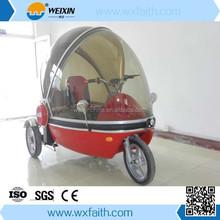 2015 New design three wheel electric scooter three wheeler three tricycle