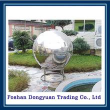 corrosion resistant mirror steel ball garden ornament