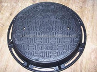 round high quality top-selling China factory anti-theft manhole covers/well lid