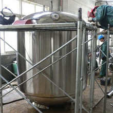Cooling&Mixing Kettle made of 304L exported to Singapore