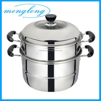 Multi-functional Steamer Pot / 3-layer Stainless Steamer / Large Stainless Steel Steamer